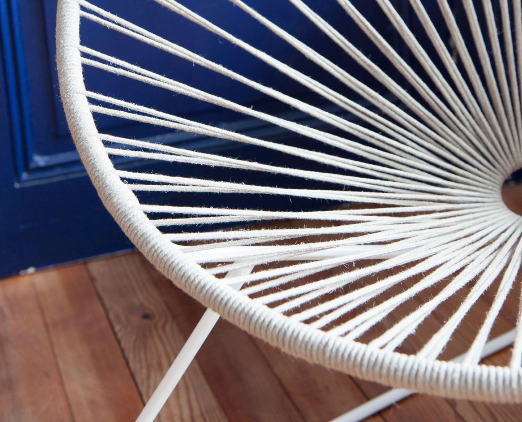 Acapulco Hemp Chair Boqa