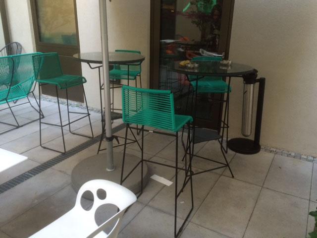 Hotel A Loft Munich mobilier outdoor Boqa
