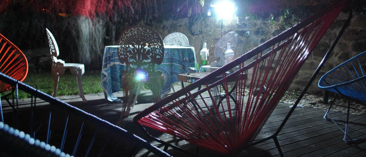 Mobilier exterieur Boqa