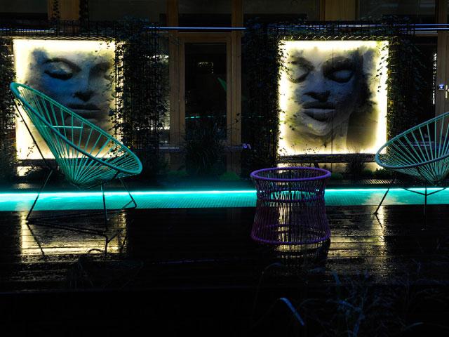 Hotel Nala fauteuil acapulco Boqa