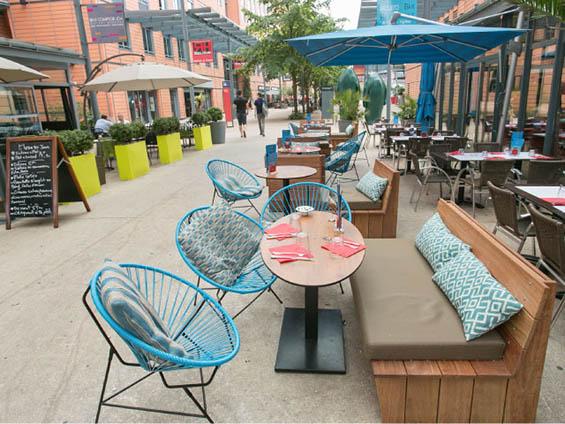 café suelta verde mobilier outdoor boqa