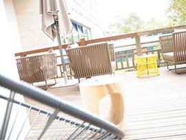 Hotel Les Bains d'arguins Arcachon terrasse meubles exterieurs boqa