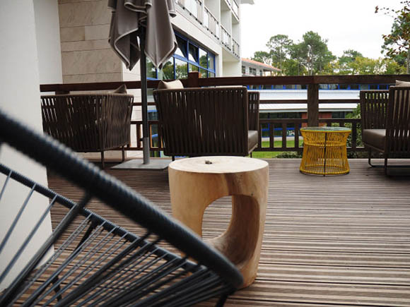 Hotel Bain d'arguin Arcachon meubles outdoor Boqa