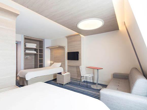 Hotel Ibis Style meuble design epuré Boqa